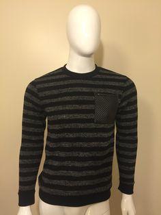 Striped sweater Men Sweater, Sweaters, Fashion, Moda, La Mode, Pullover, Men's Knits, Sweater, Fasion