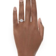Omg I want! Tiffany Soleste Round Engagement Rings | Tiffany & Co.