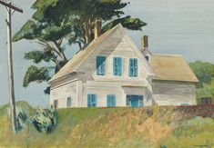 Edward Hopper, Railroad Embankment, 1932