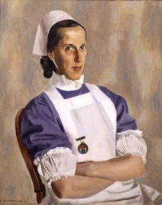 Sister Fry, Alfred Reginald Thomson (British 1894–1979)
