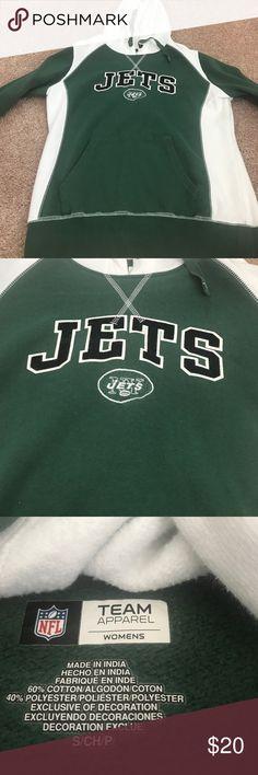NFL jets women's sweatshirt Size small women's nfl apparel like new Sweaters