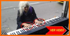 WOW Cuando esta ancianita de 80 se sentó al Piano Nos dejo Mudos!