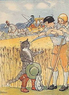 Charles Perrault, <i>le Chat botté</i> Carla Fairy Tail, Charles Perrault, Image Chat, Fable, Fairy Tail Anime, Children's Picture Books, Animal Sketches, Vintage Pictures, Book Illustration