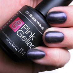 Pink Gellac - Black Velvet - een van de nieuwe kleuren uit de Reminiscence collectie