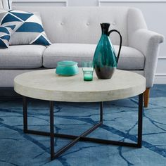 Shop west elm for modern accent tables and living room tables. Choose from a great selection of stylish side tables and modern console tables. Pedestal Coffee Table, Low Coffee Table, Coffee Table With Storage, Modern Console Tables, Modern Coffee Tables, Modern Table, Furniture Sale, Living Room Furniture, Affordable Furniture