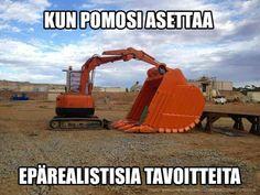 Construction meme of unrealistic production goals. Construction Meme, Pipeline Construction, Construction Companies, Railroad Humor, Farm Humor, Work Jokes, Work Humour, Mechanic Humor, Funny Images