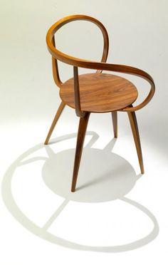 Silla pretzel. George Nelson. 1952 Sin duda mi silla favorita. Pieza de coleccionista. En 2009 Vitra reeditó 100 unidades...