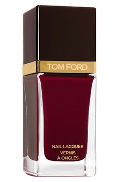 Tom Ford Nail Lacquer in Bordeaux Lust #manicure