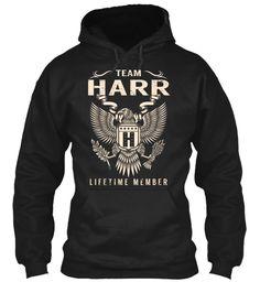 Team HARR Lifetime Member #Harr