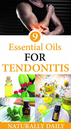 Tendonitis is the inflammation of a tendon, the thick cord that connects bone to muscle. Also called Tendinitis, it occurs when the tendons become irritate Essential Oil For Tendonitis, Essential Oils For Headaches, Best Essential Oils, Natural Health Tips, Natural Health Remedies, Natural Healing, Herbal Remedies, Natural Oil, Cold Remedies