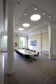 The David Sainsbury Room - Prince Philip House John Nash, Listed Building, Prince Philip, Contemporary Design, David, Rooms, Interior, Table, House