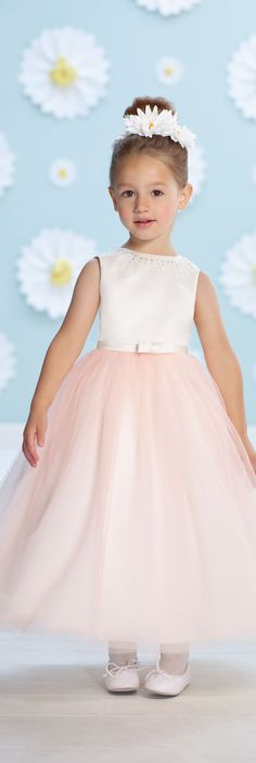 Joan Calabrese for Mon Cheri - Style No. 116367 #flowergirldresses