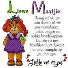 Friendship Messages, Friend Friendship, Friendship Quotes, Baie Dankie, Afrikaanse Quotes, Goeie More, Good Morning Greetings, Day Wishes, Friends Forever