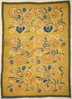Beautiful Antique Bessarabian Kelim Rug