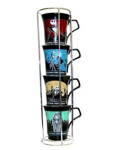 Nightmare Before Christmas - Four Jacks Stacked (Set of 4) Mug