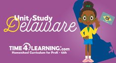 Today's homeschool unit study covers fun and important facts about Delaware. How it became a colony, when it became a state and more interesting facts!