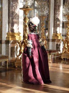 Robe à la française, 1779 circa (All hand-sewing) #robe à la #française #versailles #1770s #historical #dress #marieantoinette #marie #antoinette #pouf