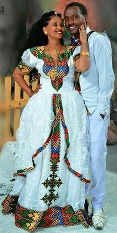 #Ethiopian_Fashion, #EthiopianFashion African Men Fashion, African Wear, African Fashion Dresses, African Dress, Ethiopian Wedding Dress, Ethiopian Dress, Ethiopian Traditional Dress, Traditional Dresses, Ethiopian People