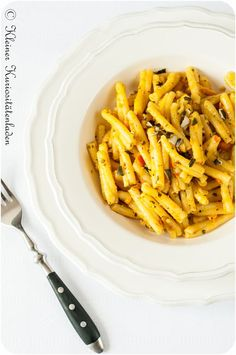 Kürbispesto Pumpkin Bread, Pumpkin Spice, Pesto Dip, Pasta Al Dente, Pasta Noodles, Pumpkin Recipes, Pasta Dishes, Soul Food, Great Recipes