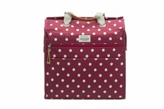 Cykelväska Lilly Polka Red via Everyday Bag - Cykelväskor. Click on the image to see more!