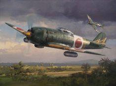 Nakajima KI-84 by Darryl Legg