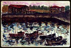 Roberto Crespo Rios _ 1980 _ barcas