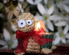 Cute, lovely, little turtle to hold every standard tealight candle!