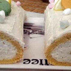 Habkönnyű szalagos fánk Vanilla Cake, Camembert Cheese, Lime, Food, Limes, Essen, Meals, Yemek, Eten