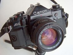 Canon A1 - my first camera. what was yours?