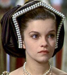 "Genevieve Bujold as Anne Boleyn in ""Anne of the Thousand Days"""