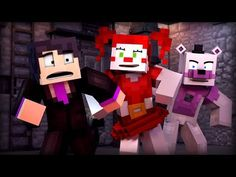 Hope you enjoy this Minecraft FNAF music video! We've spent months working on this project, and I think the work shows :) Shoutout to OneTFLyrics f. Fnaf Minecraft, Minecraft Party, Fnaf Jumpscares, Fnaf Baby, Minecraft Characters, Fnaf Sl, William Afton, Fnaf Sister Location, Circus Baby