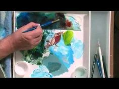 The Beginning Artist Tutorial On Painting Rivers, Streams, Creeks With Acrylics
