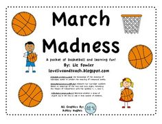 March Madness activities - aligned with common core