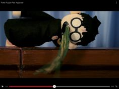 Harry vomiting in Apparate Potter Puppet Pals, Very Potter Musical, Harry Potter Gif, Funny, Movies, Films, Funny Parenting, Cinema, Movie