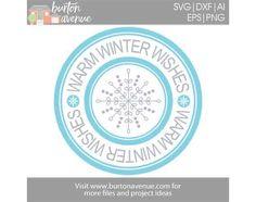 {Flash Freebie} – Free SVG Cut File – Winter Stamp