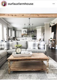 Awesome Country Farmhouse Living Room Design Ideas To Improve Your Home - Page 15 of 33 - Actaeon Decor Living Room Decor, Home Living Room, Home, Interior, Room Remodeling, Farm House Living Room, Farmhouse Style Living Room, Modern Farmhouse Style Living Room, Living Room Grey