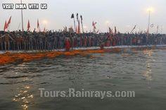 Tourist Attraction India: Kumbh 2013 India |  Nagas are going to Sahi Snaan (bath)