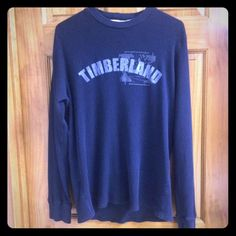 Timberland Long Sleeve Shirt Timberland Long Sleeve Shirt! Blue Never worn! Size Medium! Timberland Tops Tees - Long Sleeve