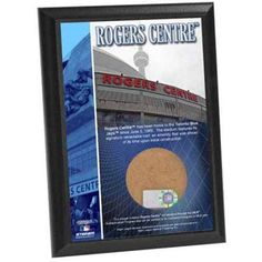 Rogers Centre 4 inch x 6 inch Dirt Plaque