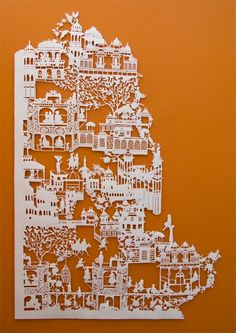 Showcasing Beautiful Collection of Unusual Paper Artwork and Paper Sculptures – Webgranth 2014