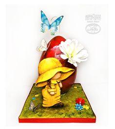 #handpaintedeasteregg #easteregg #chocolateeasteregg #chocolateegg #easterdecoration #cocoabutter #hanpaintedeasteregg #butterfly #wafferpaperflower #sugarart #cakeart #sugarartist #cakedecor #cakeartist #cakedecoration #foodporn #cakeporn #πασχα #σοκολατενιααυγα #πασχαλινααυγα #aspadeco_sugar_artist #ντινοζαχαροπλαστείο Easter Eggs, Disney Characters, Fictional Characters, Snow White, Disney Princess, Art, Art Background, Snow White Pictures, Kunst