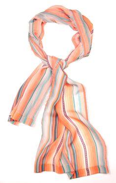 Puchypacha II Silk Chiffone Scarf by ViviAndeanDesigns on Etsy, £180.00