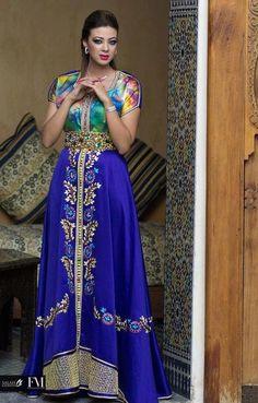 MOROCCAN FASHION - Blue Styles - #/\/\-\