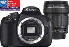 Lustrzanka Canon EOS 1200D Czarny + 18-135mm - zdjęcie 1