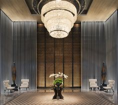 Lobby at night - Keraton at The Plaza, a Luxury Collection Hotel, Jakarta