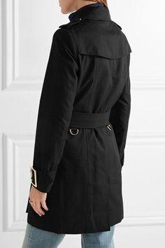 Burberry - The Sandringham Cotton-gabardine Trench Coat - Black