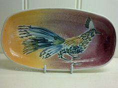 Jo Lester, Isle Of Wight Pottery, DISH-bird