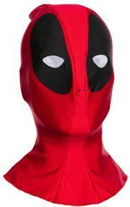 Deadpool Overhead Adult Fabric Mask - 370977   trendyhalloween.com