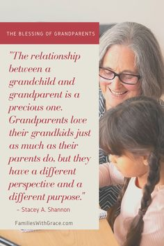 Grandparents and grandchildren have a special relationship and bond of their own that is priceless and beneficial to them both. #Grandparents #Grandma #Grandpa #Grandchildren #Legacy #Generations #Parenting