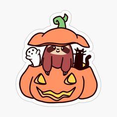 Kawaii Turtle, Kawaii Pig, Halloween Design, Cute Halloween, Sloth Drawing, Cat Presents, Cartoon Cow, Chibi Cat, Cute Easy Drawings